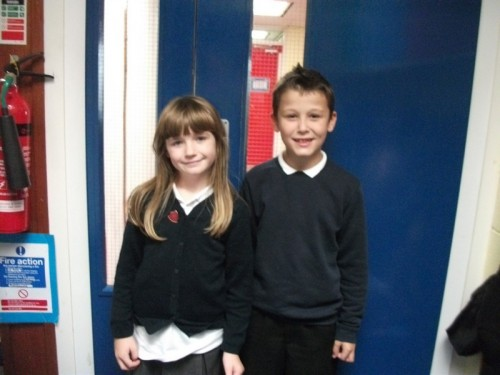Year 4 voted for Daneil and Jessica